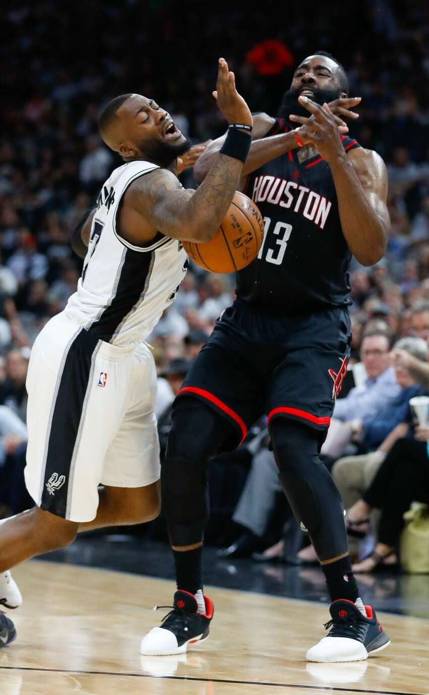 Spurs worked on D : The Spurs contested 73 shots, 10 more than Houston. Unfortunately, as mentioned in the previous slide, the Rockets had no problem getting buckets even when closely defended.