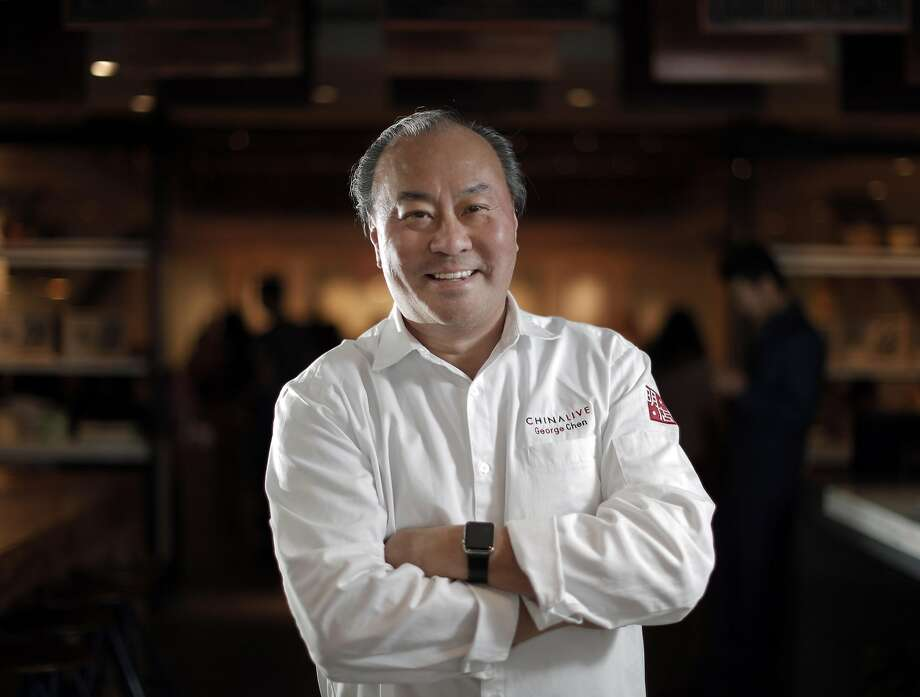 Chef George Chen at China Live in San Francisco. Photo: Carlos Avila Gonzalez, The Chronicle