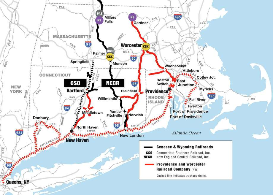 With operations in Massachusetts, Connecticut and elsewhere in the Northeast, the Providence & Worcester Railroad gave Genesee & Wyoming track and rights contiguous with its existing Connecticut Southern Railroad and New England Central Railroad operations. (Image: Business Wire)