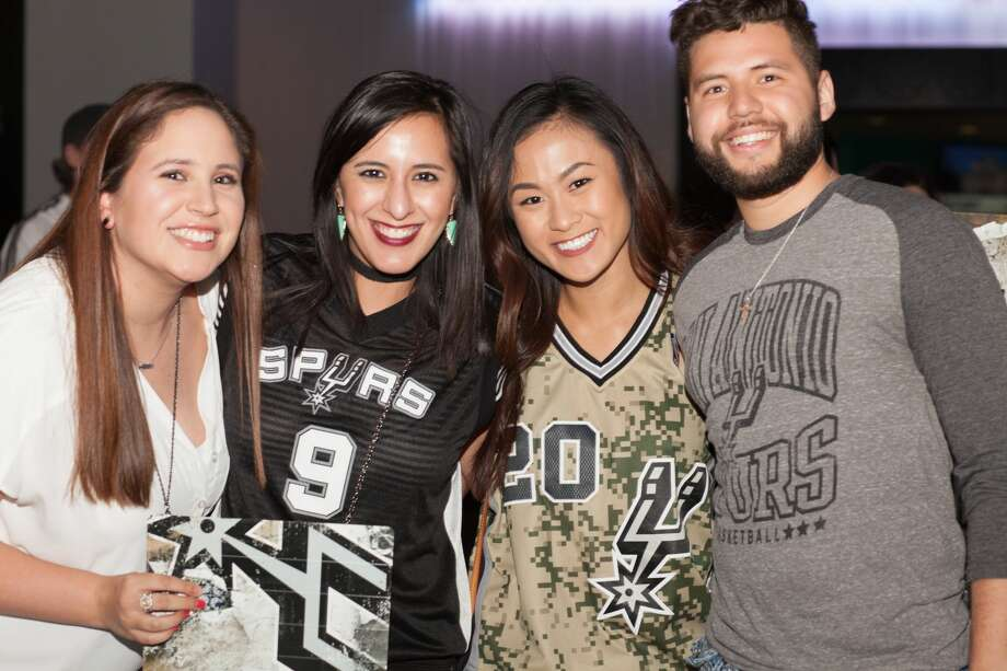 San Antonio Spurs fans gave their best to boost their beloved team to a Game 1 victory, but a painful loss swept the AT&T Center in the end on Monday, May 1, 2017. The Rockets took Game 1 in a 126-99 victory over the Spurs in San Antonio. Photo: Fabian Villa, For MySA.com