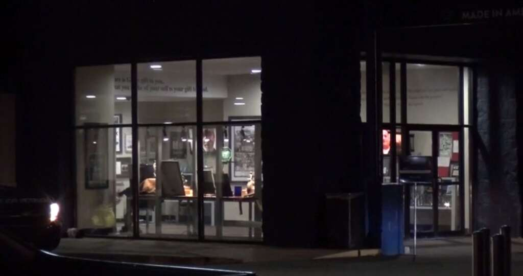 Police Are On The Hunt For Two Suspects Who Broke Into A Gallery Furniture  On The