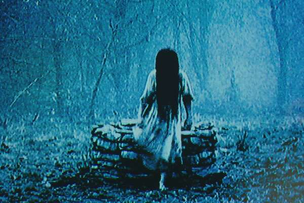 "New movie, same old spooky Samara in ""Rings."""