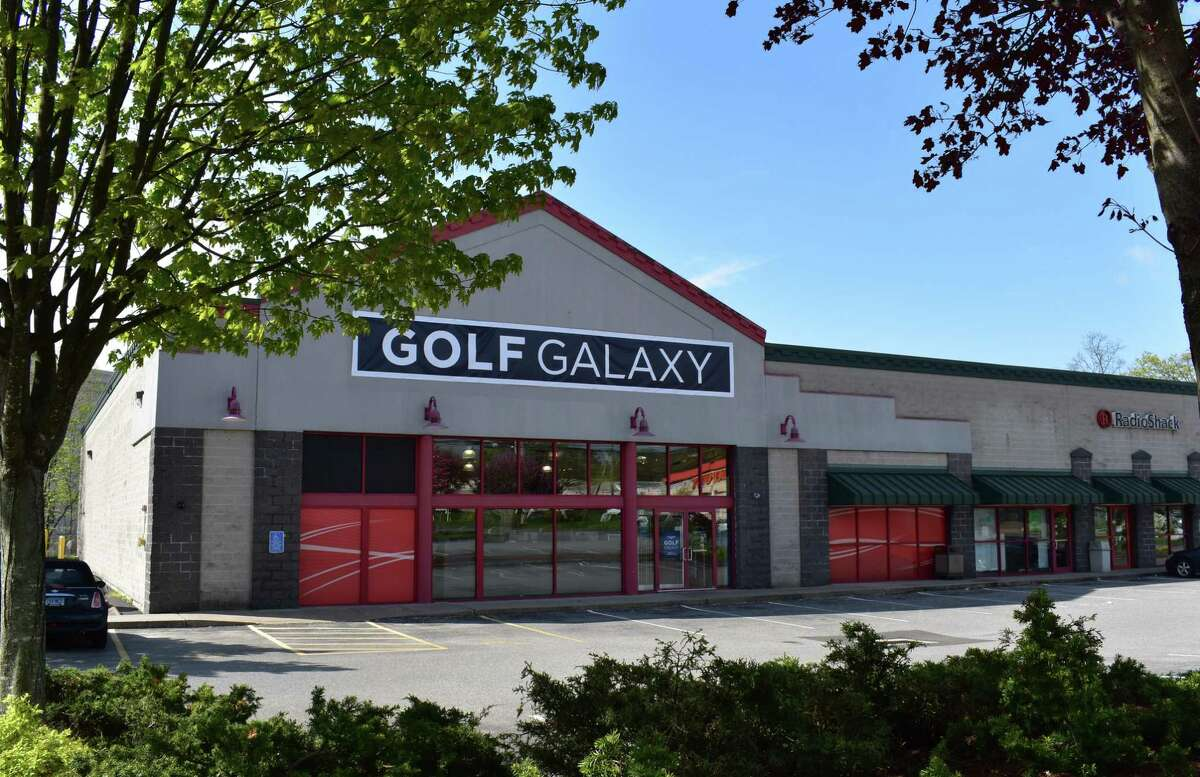 The new Golf Galaxy at 595 Connecticut Ave. in Norwalk, Conn., on May 2, 2017.