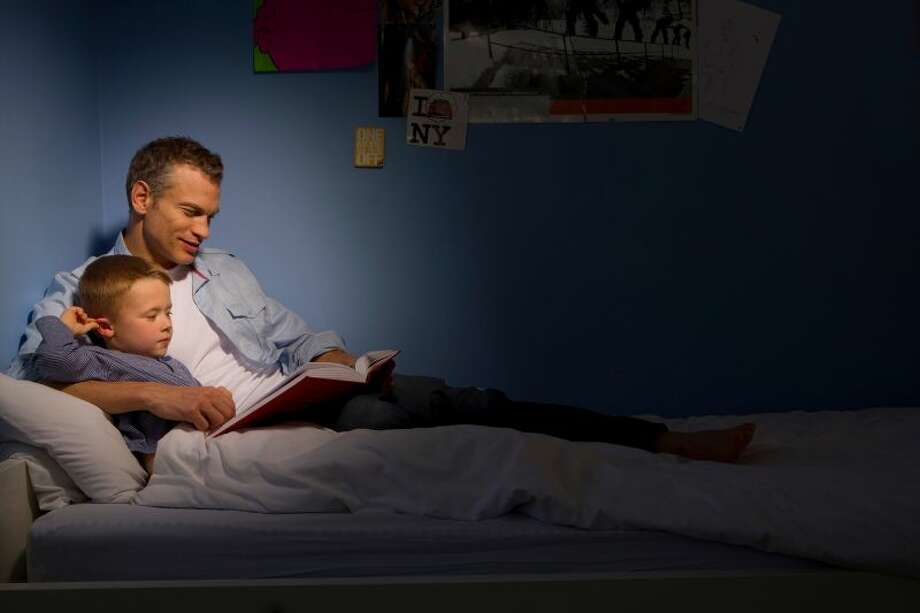 """File Photo: The video, which is titled """"The Great Realisation,"""" was uploaded to YouTube by British artist and poet """"Probably Tomfoolery"""" on April 29. In the video, a father reads his child a bedtime story, however, this tall tale is not quite Goldilocks and the Three Bears.    Photo: Bounce   Getty Images"""