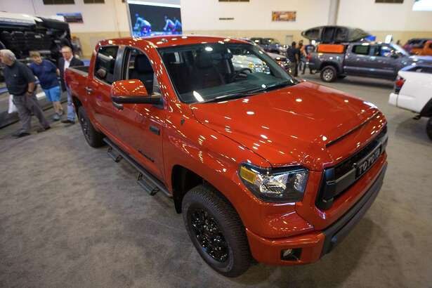 Toyota Tundra pickup sales rose 5.1 percent in October over the same month last year.