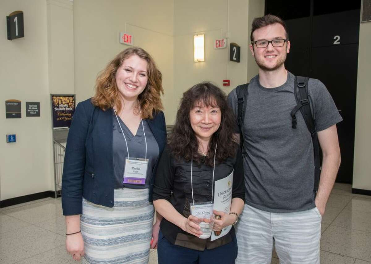 Were you seen at the 14th Annual Undergraduate Research Conference on Friday, April 28, at the University at Albany?  The research and creative work of students representing 29 different degree programs was represented at the event.