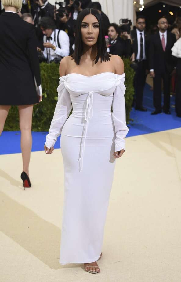 Kim Kardashian attends The Metropolitan Museum of Art's Costume Institute benefit gala celebrating the opening of the Rei Kawakubo/Comme des Garçons: Art of the In-Between exhibition on Monday, May 1, 2017, in New York. Photo: Evan Agostini, AP