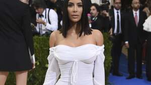 Kim Kardashian attends The Metropolitan Museum of Art's Costume Institute benefit gala celebrating the opening of the Rei Kawakubo/Comme des Garçons: Art of the In-Between exhibition on Monday, May 1, 2017, in New York. (Photo by Evan Agostini/Invision/AP)
