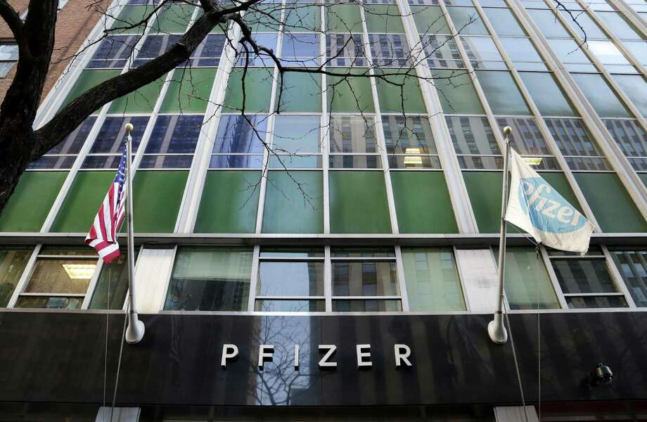 Pfizer posted a quarterly profit of $3.12 billion, or 51 cents per share, up from $3.04 billion, or 49 cents per share, a year earlier. Revenue was $12.78 billion in the period, falling short of forecasts for $13.04 billion. Photo: Associated Press File Photo / Copyright 2016 The Associated Press. All rights reserved. This material may not be published, broadcast, rewritten or redistribu