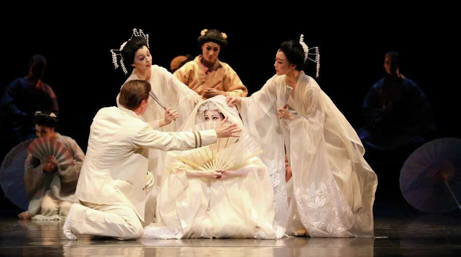 "Houston Ballet's ""Madame Butterfly"" is May 5 at 8 p.m. at The Cynthia Woods Mitchell Pavilion. The performance is sponsored by The Wortham Foundation."