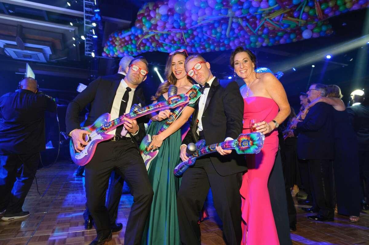 Shawn and Racheal Gottschalk with Brian and Amalia Stanton