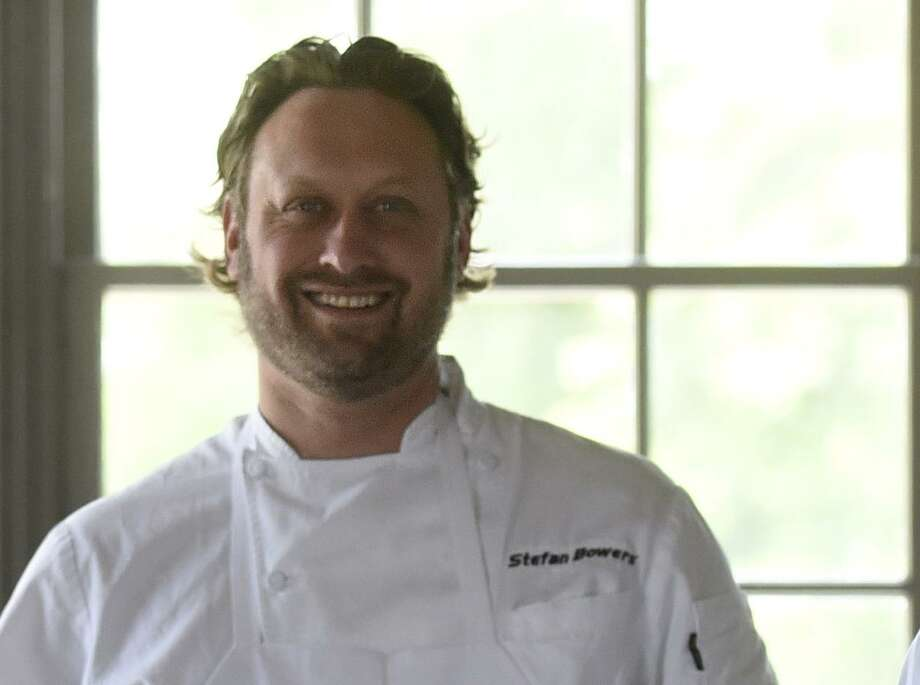 San Antonio chef Stefan Bowers has been hired to handle the food operations for The St. Anthony hotel. Bowers and his business partner Andrew Goodman already operate the restaurant Rebelle and the bar Haunt at the hotel. Photo: Billy Calzada /San Antonio Express-News / San Antonio Express-News