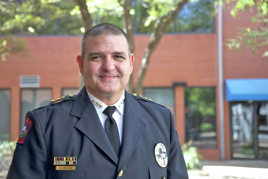 Eric Mendez, the chief of police for Austin ISD, was announced as the incoming chief of police for Cypress-Fairbanks ISD on May 1. Mendez replaces Chief Alan Bragg, who will retire after a 45-year law enforcement career in June. Photo: CFISD