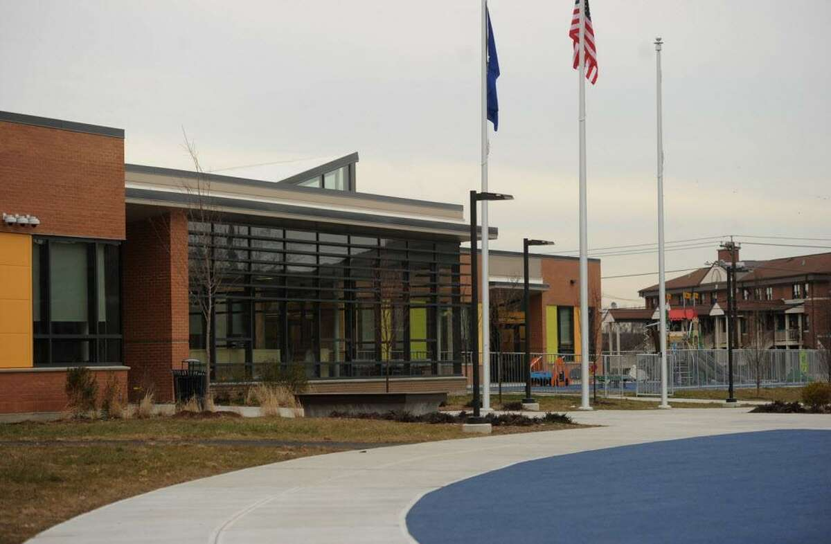 The new Geraldine Claytor Magnet School in Bridgeport, Conn. on Wednesday, December 21, 2016. The school replaces the old Longfellow School, which closed four years ago.