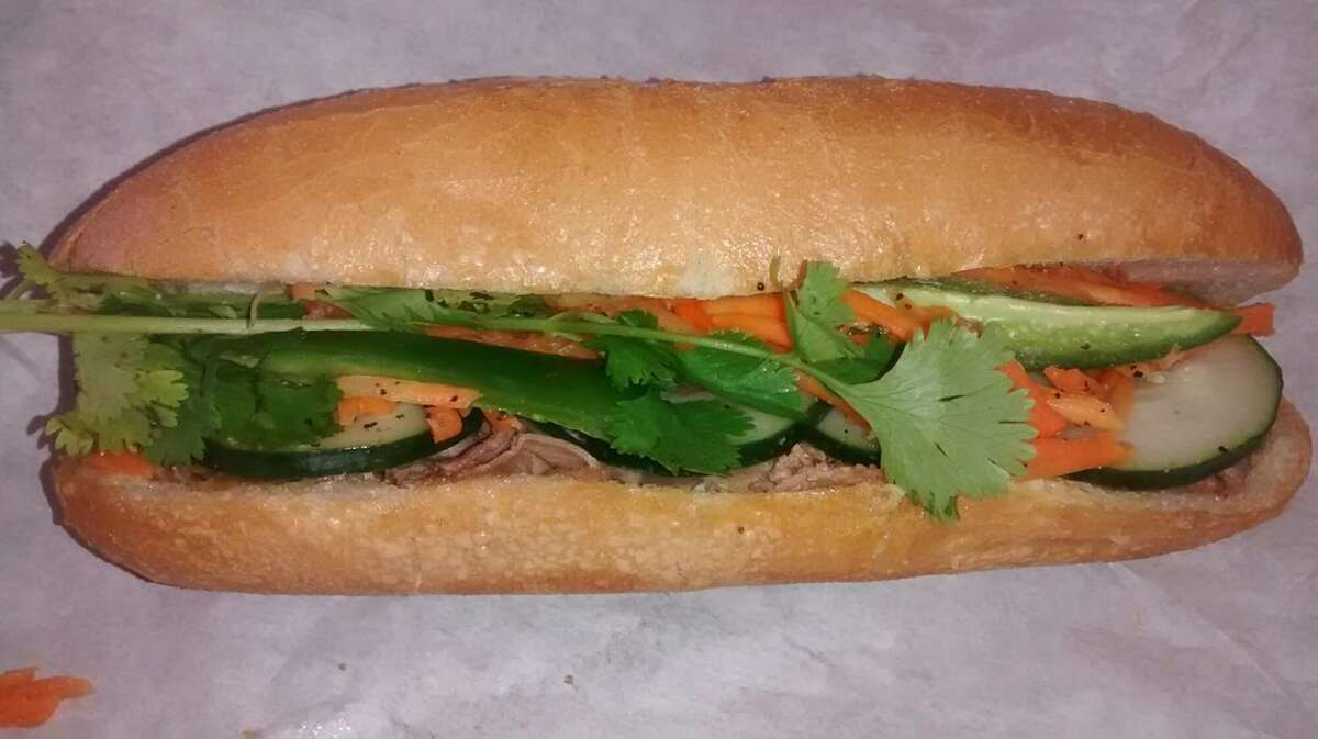 Viet Subs 1317 Gessner Houston, TX 77055 Demerits: 47 Inspection Highlights:Observed food not safe for human consumption. Beef measured at 116 degrees F, Chicken at 70 degree F, Pork at 50 degrees F, and White Ham at 49 degrees F) not safe for human consumption was discarded. Food service / food processing establishment not in compliance with Article II, Food Ordinance. (20-21.16) Temporarily closed due to floor drain backed up under three-compartment sink and at hand washing sink in the front prep area. Photo: Yelp/Gracie L.