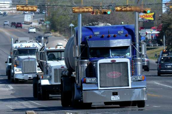 A measure is under consideration in the Texas Legislature that would allow heavier trucks on the state's roads.