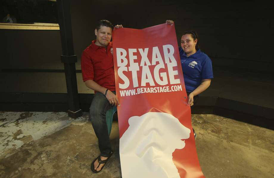 Dan Grimm and Tina Jackson run the new Bexar Stage improv theater at 1203 Camden. Formerly the Overtime Theater, the theater opens this week after renovations are finished. Photo: John Davenport /San Antonio Express-News / ©San Antonio Express-News/John Davenport