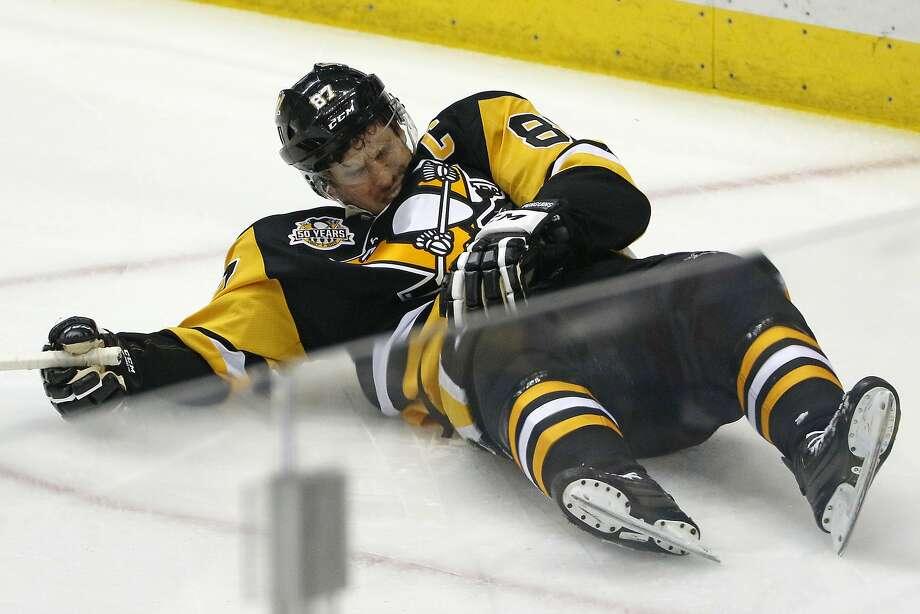 Sidney Crosby career injury timeline