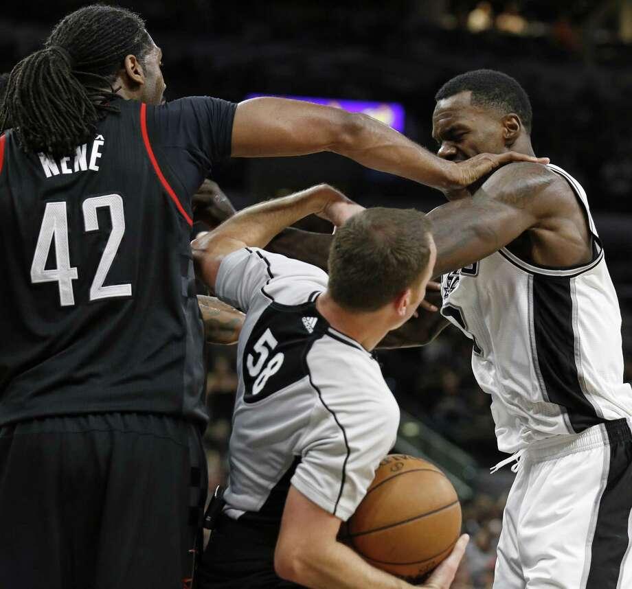 Houston Rockets 3rd Quarter Stats: Rockets' Nene Fined $15,000 For Game 1 Altercation