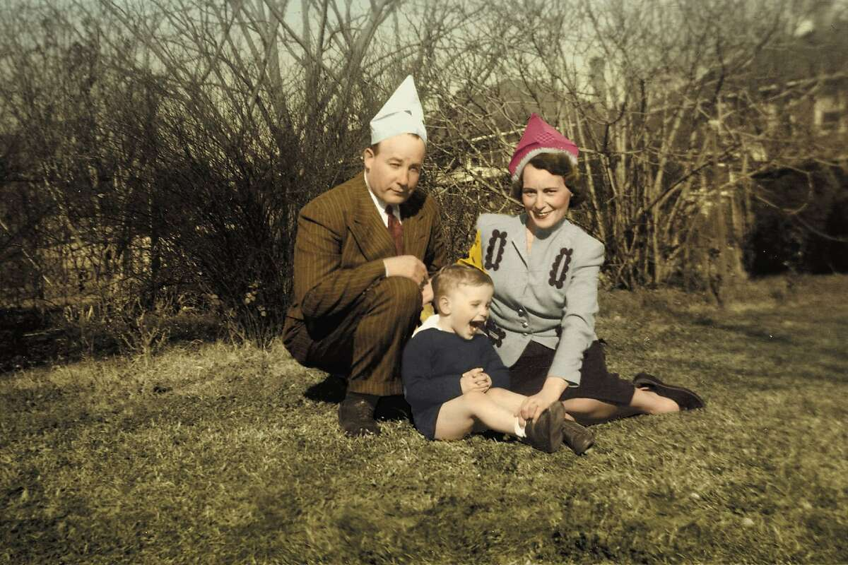 Richard Ford and his parents, Parker and Edna Ford.