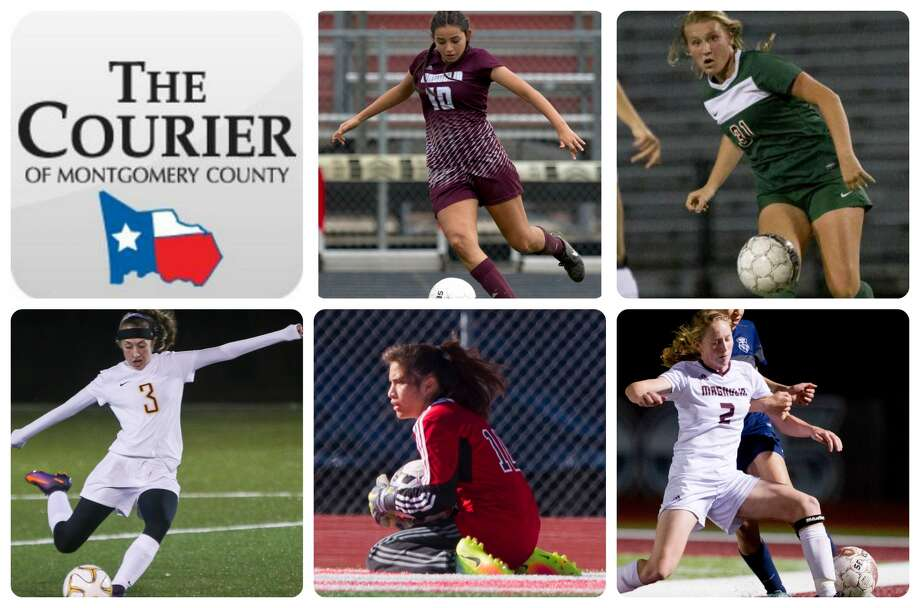 Magnolia's Vanessa Aragon, The Woodlands' Ashlyn O'Shea, Montgomery's Sarah Trotter, Porter's Irma Hernandez and Magnolia's Kate Colvin are The Courier's Newcomer of the Year nominees.