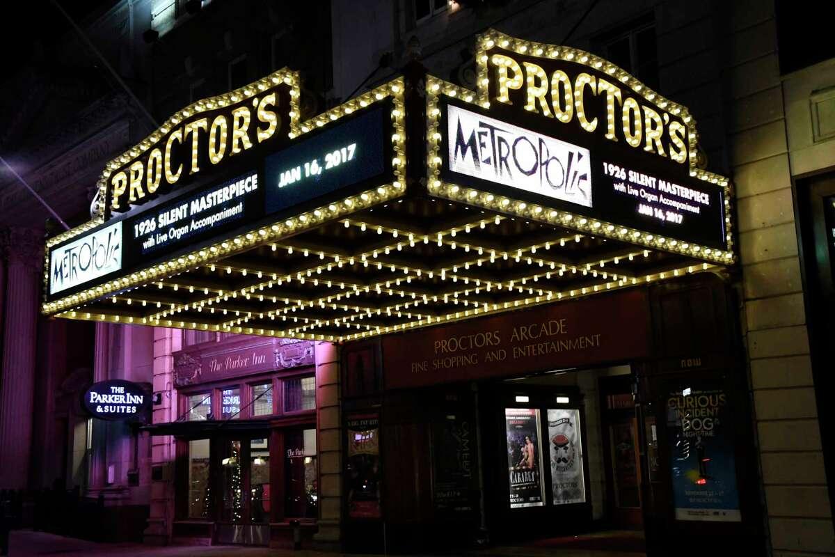 Proctors marquee on Thursday, Dec. 1, 2016, at Proctors in Schenectady, N.Y. (Cindy Schultz / Times Union)