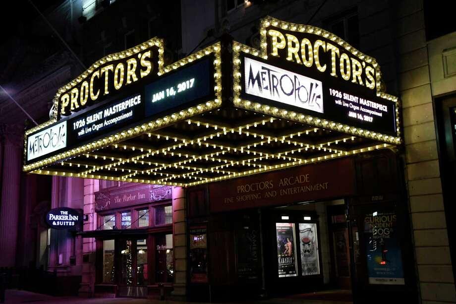 Proctors marquee on Thursday, Dec. 1, 2016, at Proctors in Schenectady, N.Y. (Cindy Schultz / Times Union) Photo: Cindy Schultz / Albany Times Union