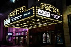 After being unable to host touring Broadway musicals for almost 19 months, Proctors in Schenectady hopes to welcome them back in December 2021. (Cindy Schultz / Times Union)
