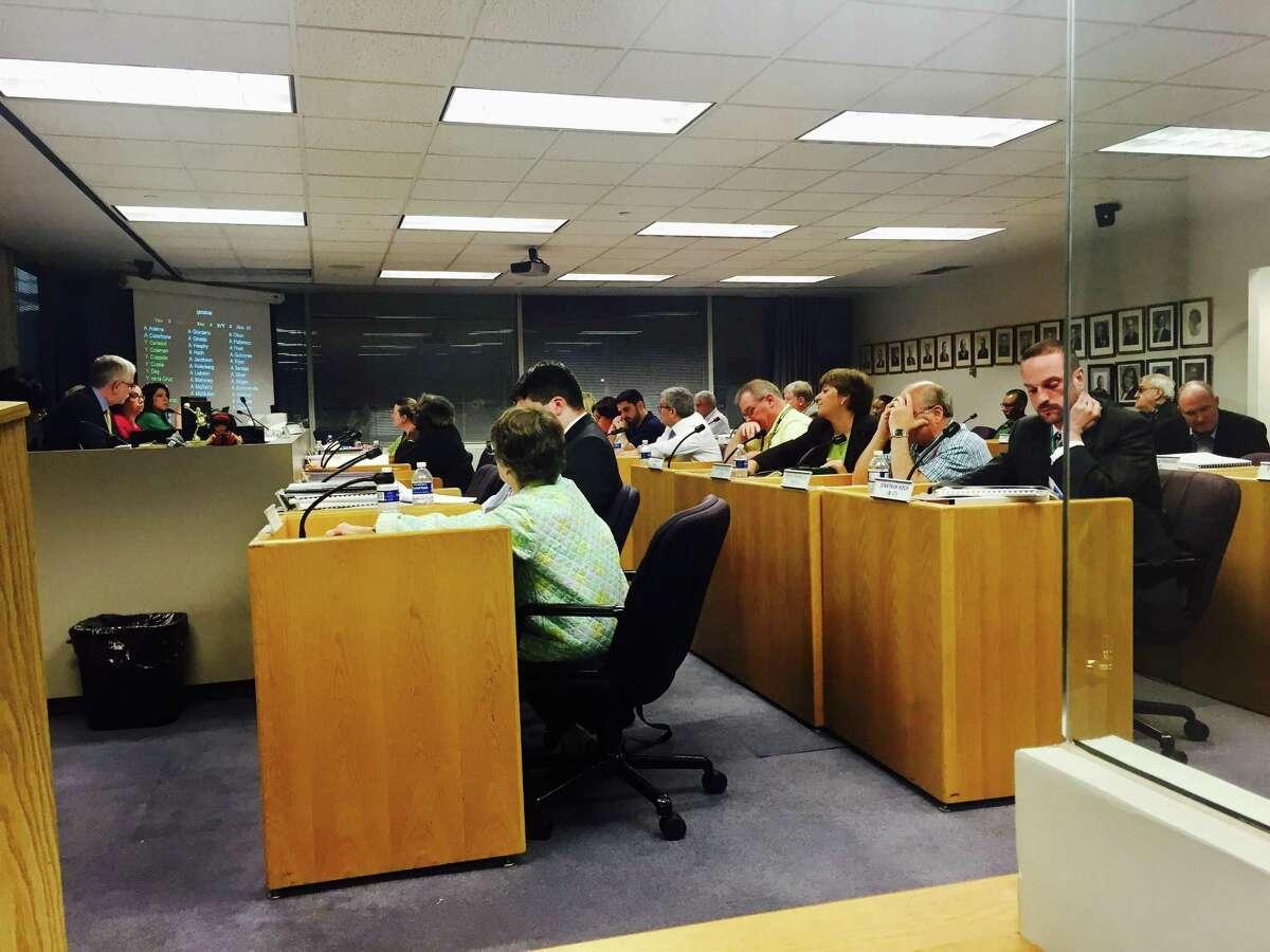 Stamford Board of Representatives on May 2, 2017.
