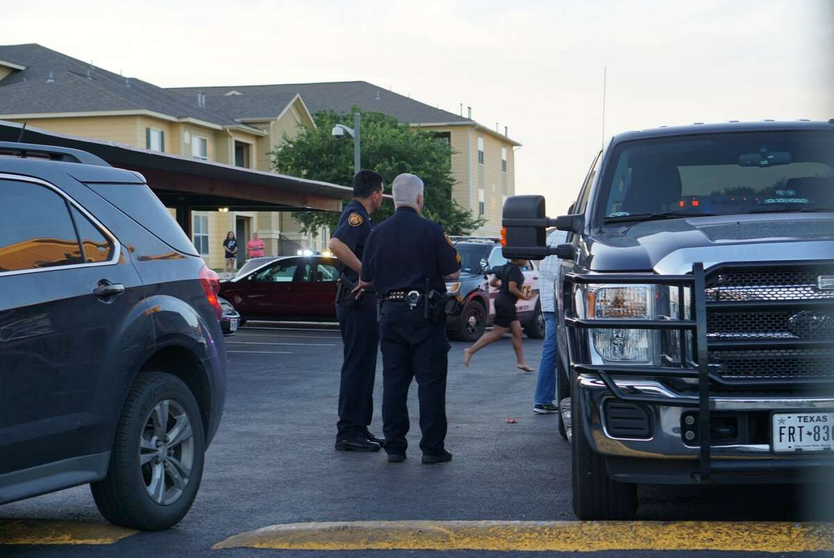 Police and federal agents are investigating an officer-involved shooting Tuesday evening on the West Side in the 8600 block of Waters Edge Drive about 7:30 p.m. May 2, 2017.