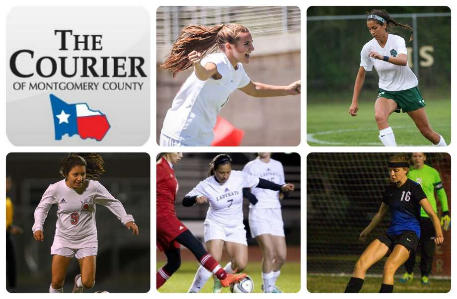 The Woodlands' Sidney Runeberg, College Park's Isa Sanabria, Porter's Bety Hernandez, Willis' Lizbeth Lopez and New Caney's Kylie Stewart are The Courier's nominees for Defensive MVP.