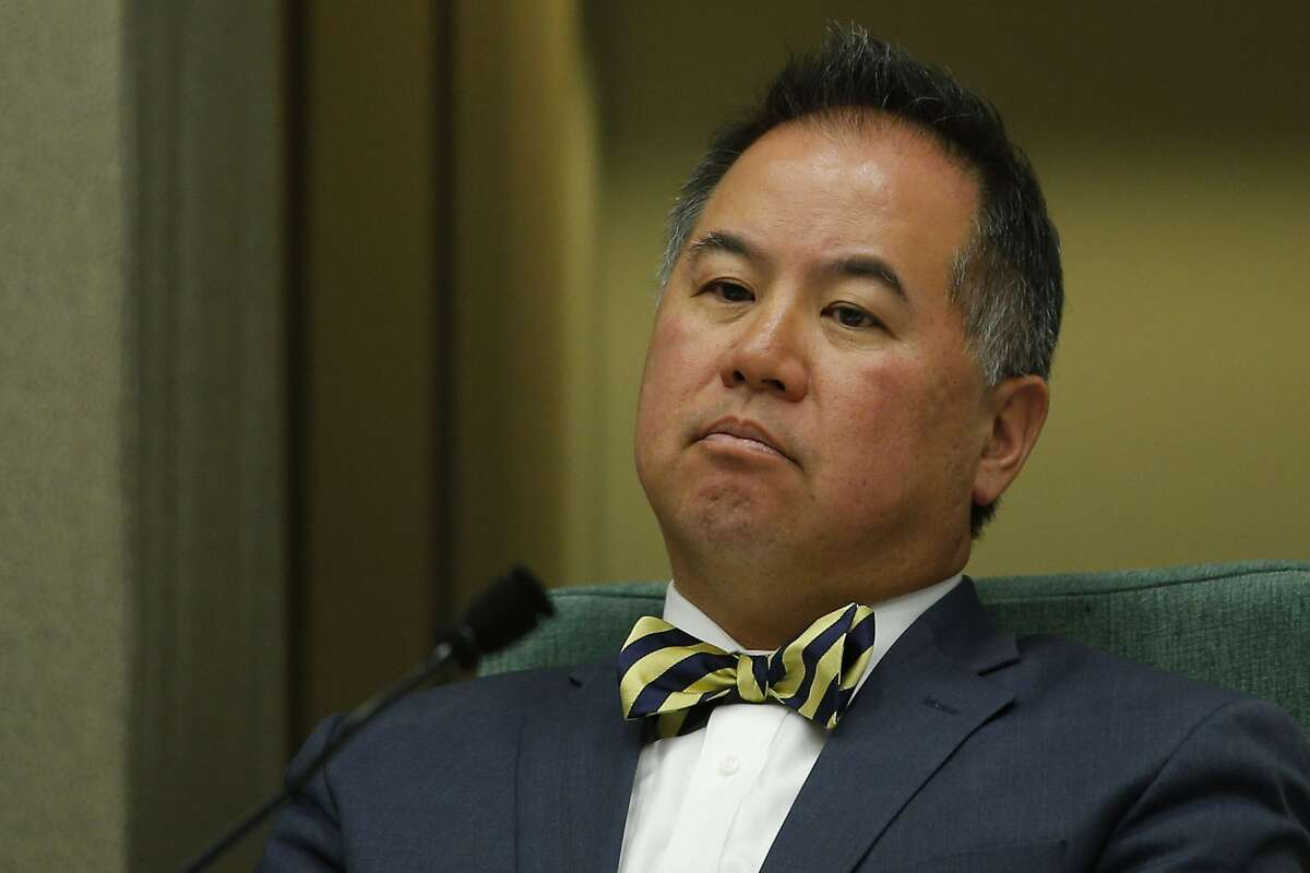 Assemblyman Phil Ting on May 2, 2017, at the California State Capitol in Sacramento.