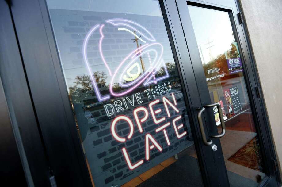 Sixty-one Taco Bell locations in San Antonio are offering a free bean burrito with the purchase of a large drink until April 8, 2018. Photo: Gerald Herbert /Associated Press / Copyright 2016 The Associated Press. All rights reserved.