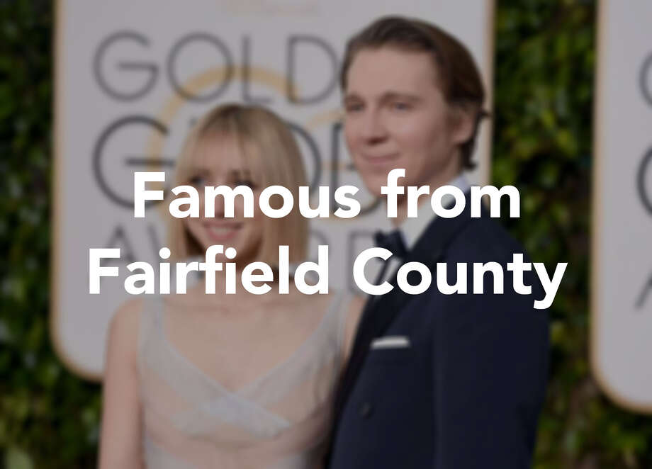 Click through to see which celebrities have ties to Fairfield County.