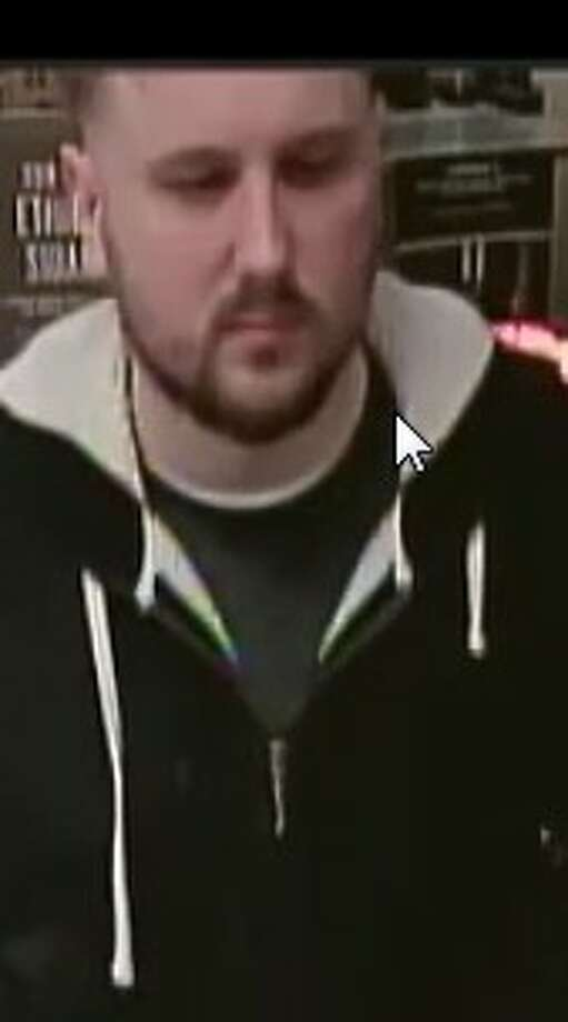 Do you recognize this man? Colonie police said they want to talk to him about the discovery of a camera hidden in March inside the Starbuck's at 18 Wolf Road. Photo: Colonie Police Department