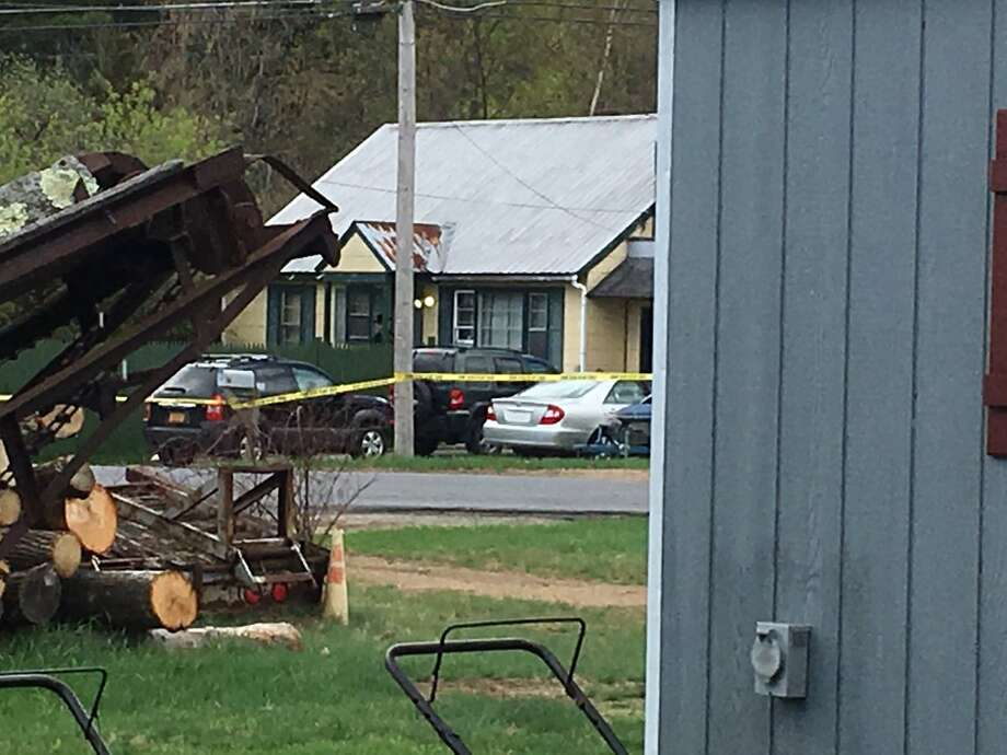 A woman's body was found early Wednesday morning in the living room of a home on Third Avenue, Saratoga County Sheriff Michael Zurlo said. Photo: Wendy Liberatore