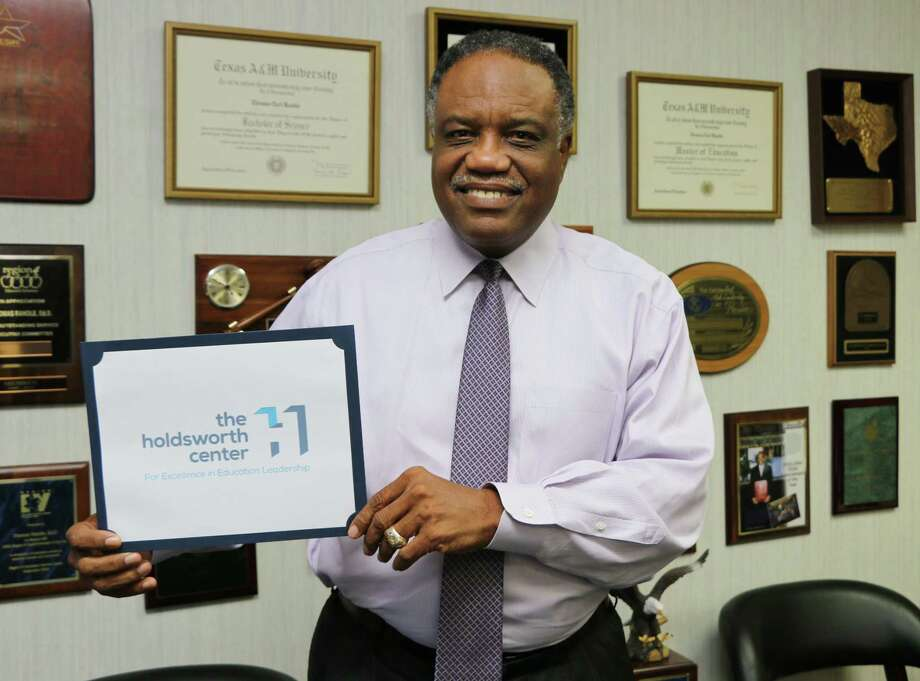 Lamar Consolidated Independent School District is among the first seven public school districts selected to participate in the inaugural cohort of The Holdsworth Center, a new leadership institute based in Austin. Lamar CISD Superintendent Thomas Randle, above, said the district is honored by the selection. Photo: Lamar CISD