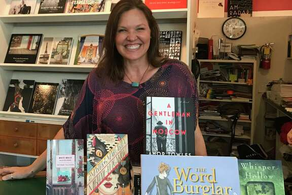 Chris Cander was at Brazos Bookstore for Independent Bookstore Day, Saturday, April 29.