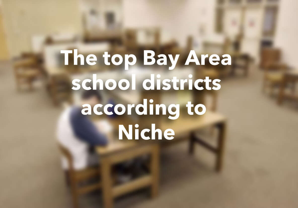The top Bay Area school districts according to Niche