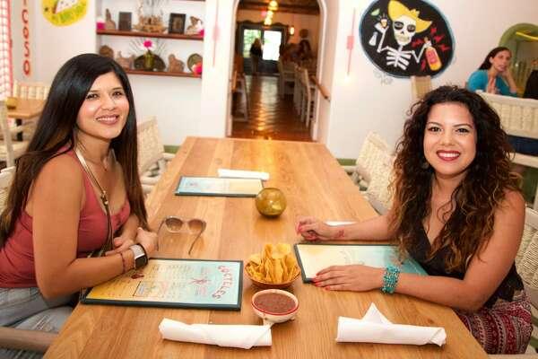 Mae Barajas and and Candice Torres are at El Mirador.
