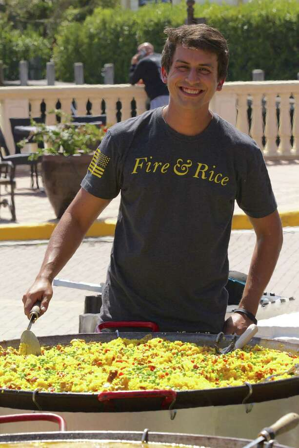 Chef Glenn Michael Tatangelo, a native of Fairfield, has opened the newest location of Fire & Rice in Connecticut, a catering company that specializes in traditional Spanish paella for festive gatherings such as parties and community events. Photo: Contributed Photo / Hidden Lake Productions, Inc.  2017