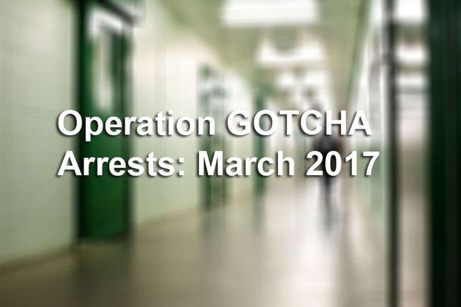 Keep clicking through to see people who were arrested in March with Operation Gotcha.