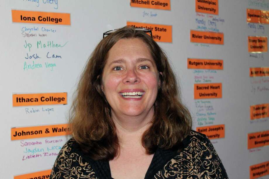Kathryn McManus, a New Canaan resident, was recently named executive director of Stamford nonprofit Future 5. Photo: Justin Papp / Hearst Connecticut Media / New Canaan News