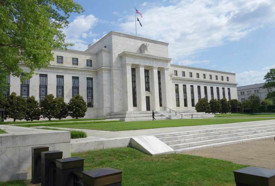 The Federal Reserve is leaving interest rates unchanged, while signaling that it expects a resilient U.S. economy and solid job market to justify further rate hikes later this year. Photo: AFP /Getty Images File Photo / AFP or licensors