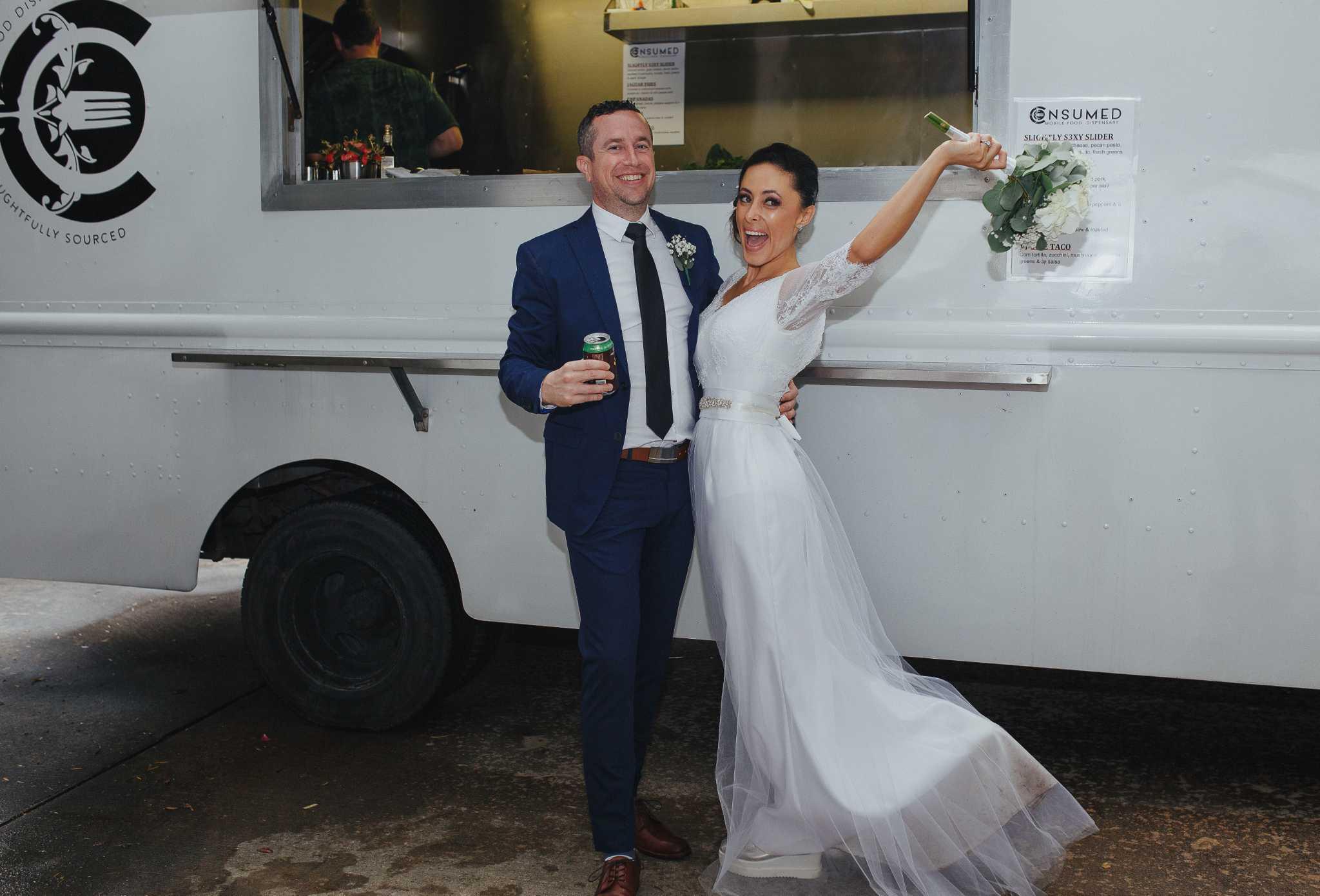 Food trucks becoming wedding fixtures - Times Union
