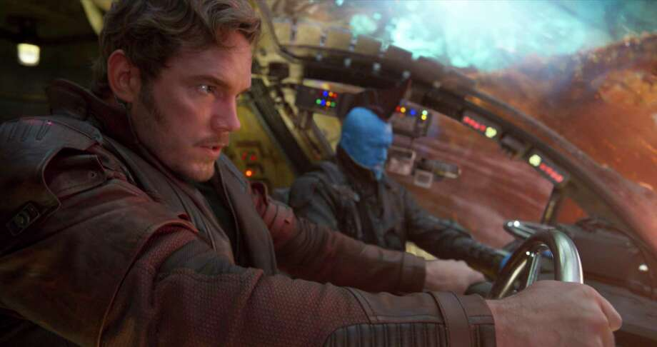 "Chris Pratt grew up in Lake Stevens in Snohomish County, where his dad was a home remodeler and his mom works at the local Safeway. Here he's pictured in ""Guardians of the Galaxy.""  / null"
