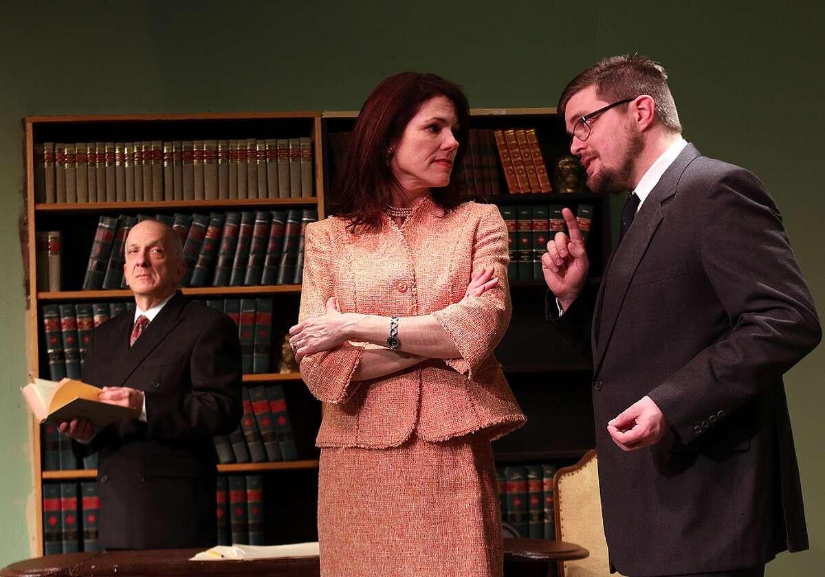 Gary Hoffmann as Benjamin Beaurevers, Christina Reeves as Dominique Beaurevers, and Wayne Bowmanchester as Paul Sevigne.