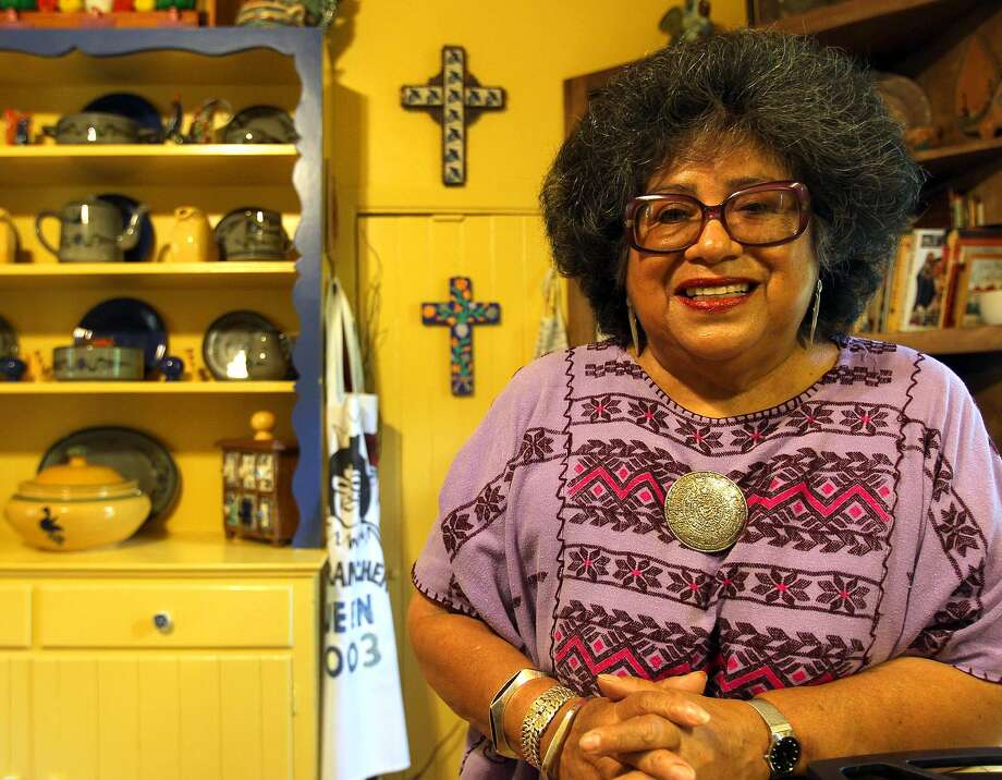 Ellen Riojas Clark in her kitchen in 2010. Photo: Express-News File Photo / special to the San Antonio Express-News