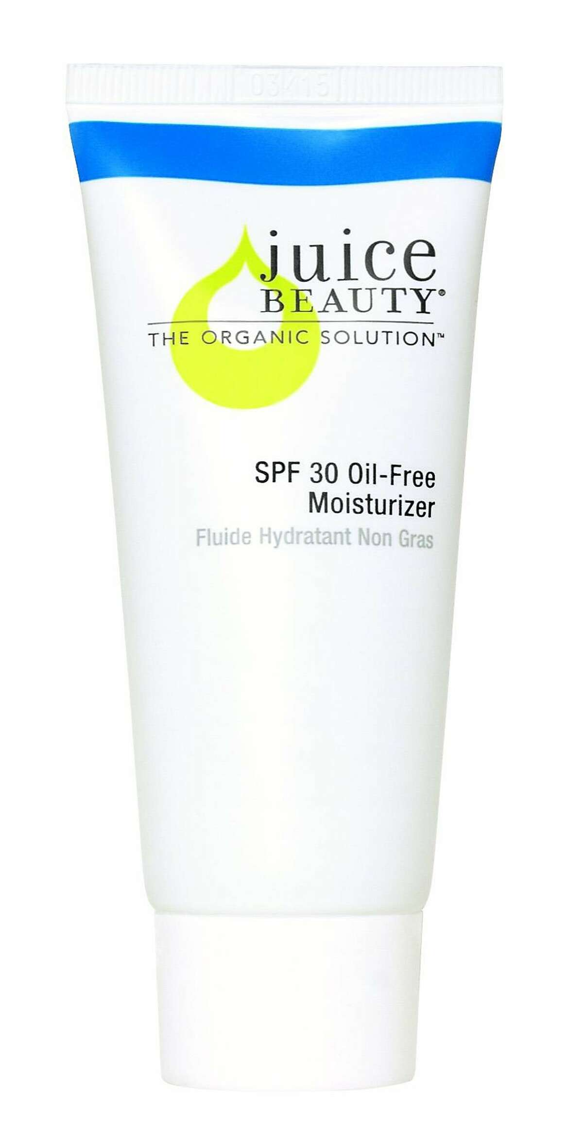 Juice Beauty�s SPF 30 Oil-Free Moisturizer��($29, 2 oz., https://www.juicebeauty.com) is billed as a moisturizer � it contains a cocktail of apple, grape and aloe juice, plus hyaluronic acid � but 20 percent non-nano zinc oxide sunscreen is the active ingredient.