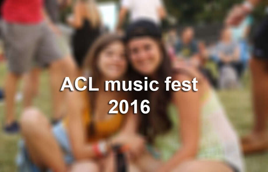 Click ahead to see photos from ACL music fest weekend one, 2016. Photo: Mysa